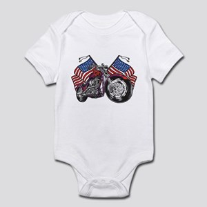 American Biker 2 Infant Bodysuit