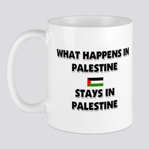 What Happens In PALESTINE Stays There Mug