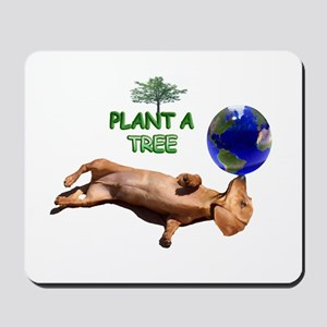 Tree Dachshund Mousepad