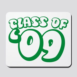 Class Of 09 (Green Bubble) Mousepad