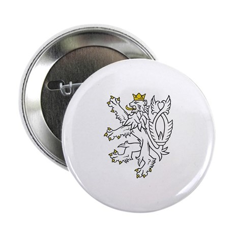 "Bohemian Lion 2.25"" Button"