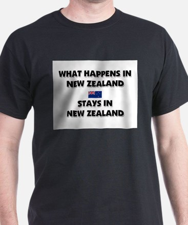 What Happens In NEW ZEALAND Stays There T-Shirt