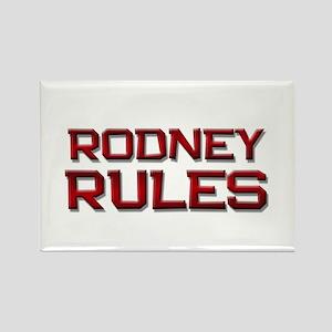 rodney rules Rectangle Magnet