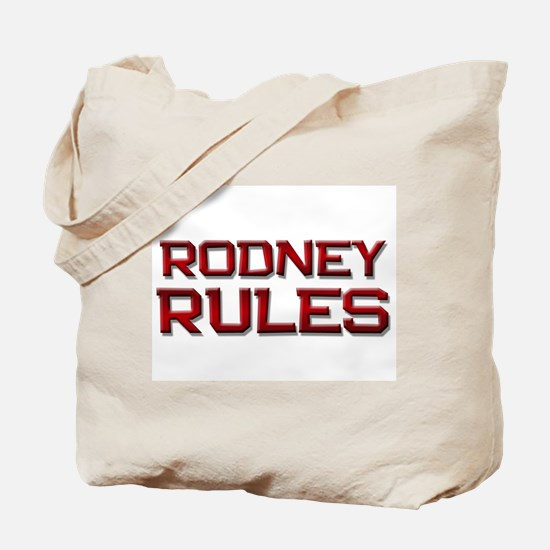 rodney rules Tote Bag