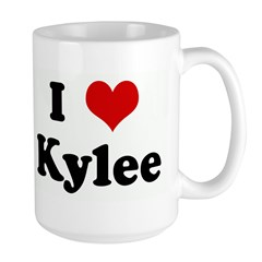 I Love Kylee Large Mug