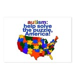 Autism USA Postcards (Package of 8)