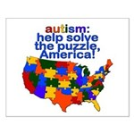Autism USA Small Poster