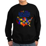 Autism USA Sweatshirt (dark)