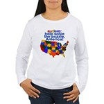 Autism USA Women's Long Sleeve T-Shirt