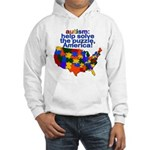 Autism USA Hooded Sweatshirt