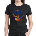 Autism USA Women's Dark T-Shirt