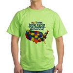 Autism USA Green T-Shirt