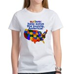 Autism USA Women's T-Shirt