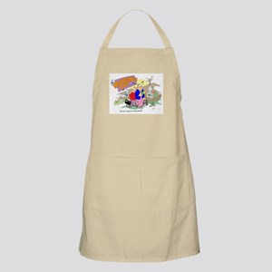 """You sure we got the right address?"" BBQ Apron"