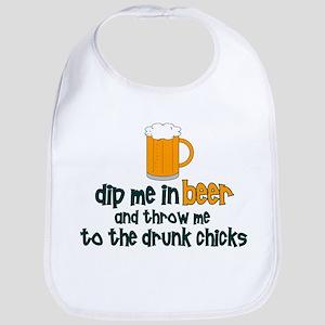 DIp Me In Beer And Throw Me T Bib