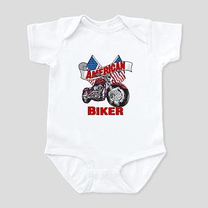 American Biker 4 Infant Bodysuit