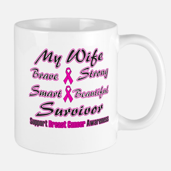 Pink Wife Words Mug