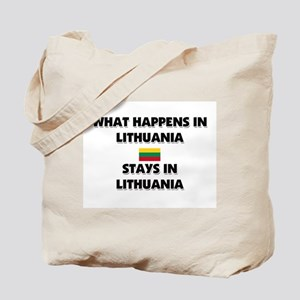 What Happens In LITHUANIA Stays There Tote Bag