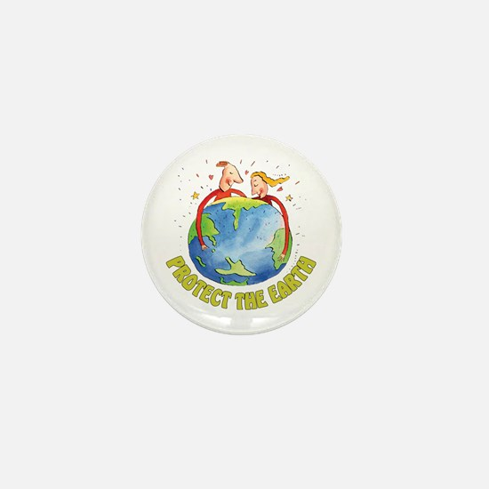 Protect the Earth Mini Button