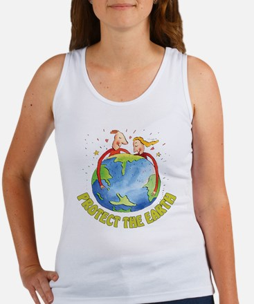 Protect the Earth Women's Tank Top