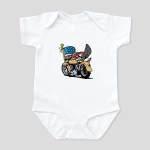 Eagle Biker 1 Infant Bodysuit