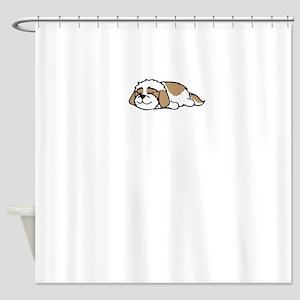 Shih Tzu Not Shower Curtain