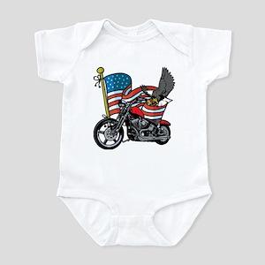 Eagle Biker 2 Infant Bodysuit