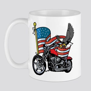Eagle Biker 2 Mug