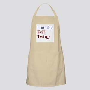 I am the Evil Twin BBQ Apron