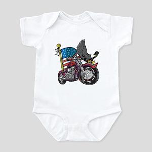 Eagle Biker 3 Infant Bodysuit