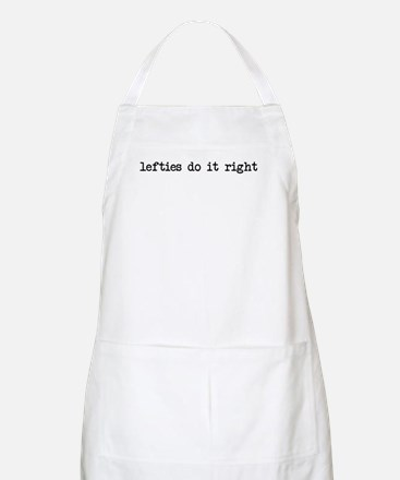 lefties do it right BBQ Apron