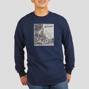 """1946 Whizzer Ad"" Long Sleeve Dark T-Shirt"