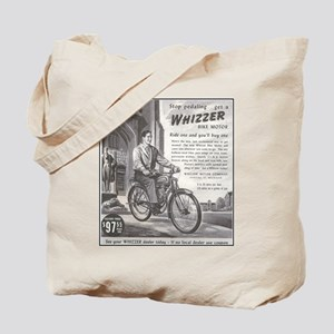 """1946 Whizzer Ad"" Tote Bag"
