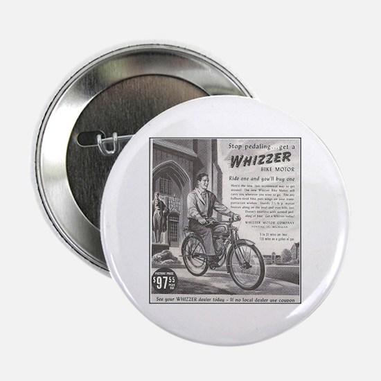 """""""1946 Whizzer Ad"""" 2.25"""" Button"""