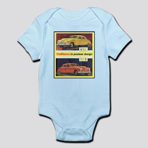 """""""1946 Kaiser-Frazer Ad"""" Infant Bodysuit"""