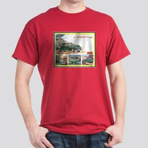 """1946 Plymouth Ad"" Dark T-Shirt"