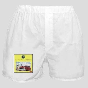 """1946 Pontiac Ad"" Boxer Shorts"
