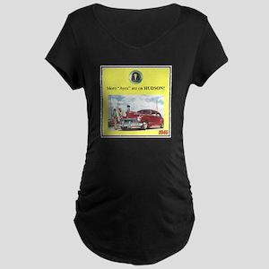 """1946 Pontiac Ad"" Maternity Dark T-Shirt"