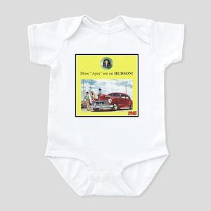 """1946 Pontiac Ad"" Infant Bodysuit"