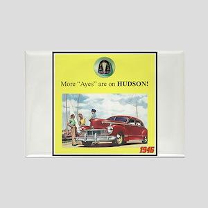 """1946 Pontiac Ad"" Rectangle Magnet"