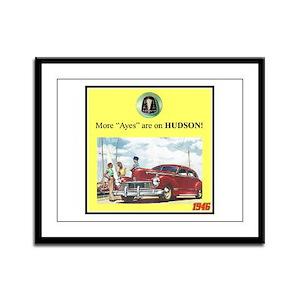 """1946 Pontiac Ad"" Framed Panel Print"