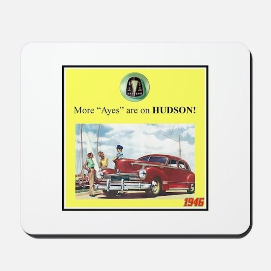 """1946 Pontiac Ad"" Mousepad"