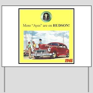 """""""1946 Pontiac Ad"""" Yard Sign"""