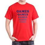 Amusement Park 'Games' Gamer Dark T-Shirt