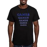 Amusement Park 'Games' Gamer Men's Fitted T-Shirt