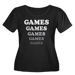 Amusement Park 'Games' Gamer Women's Plus Size Sco
