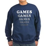Amusement Park 'Games' Gamer Sweatshirt (dark)