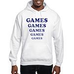 Amusement Park 'Games' Gamer Hooded Sweatshirt