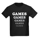Amusement Park 'Games' Gamer Kids Dark T-Shirt