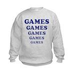 Amusement Park 'Games' Gamer Kids Sweatshirt
